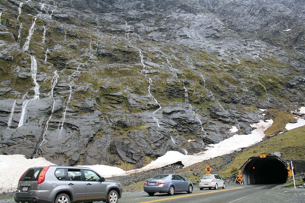 Homer Tunnel - Nouvelle-Zélande