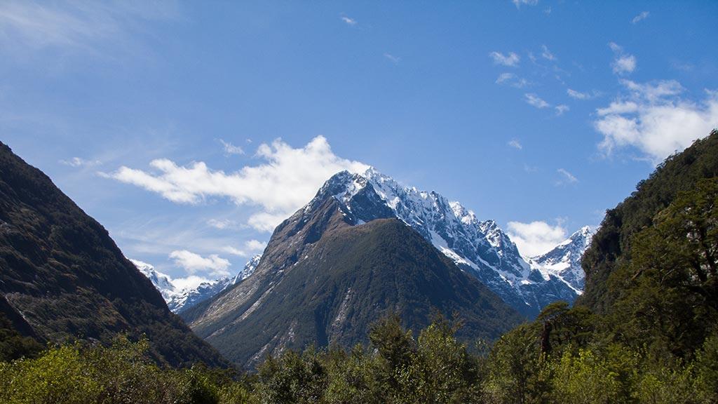Montagnes autour de The Chasm