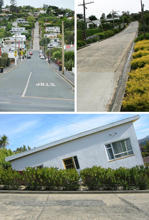 Baldwin Street, Dunedin - Nouvelle-Zélande