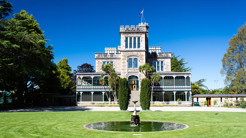 Lanarch Castle - Otago Peninsula, Dunedin