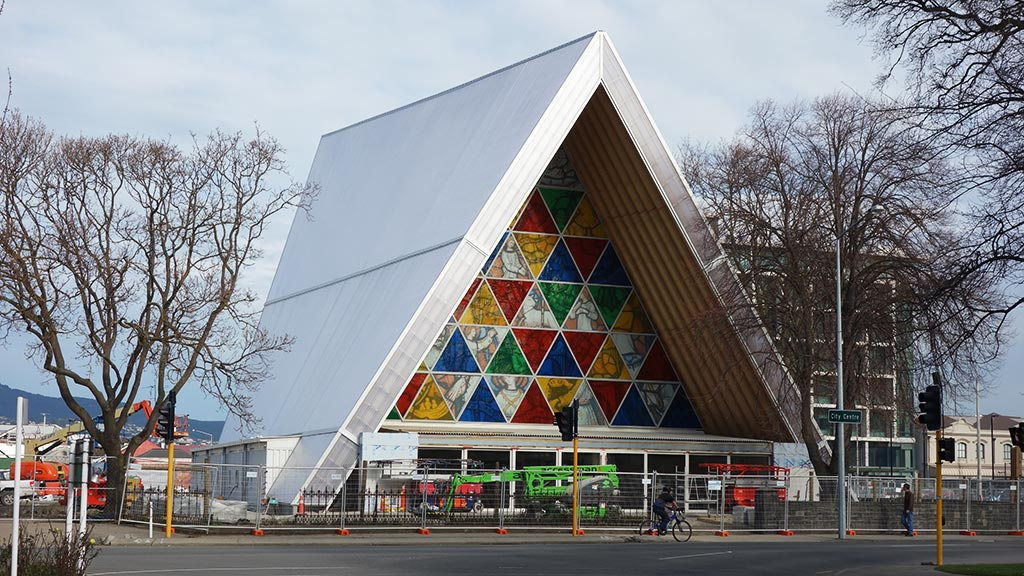Cardboard Cathedral - Christchurch